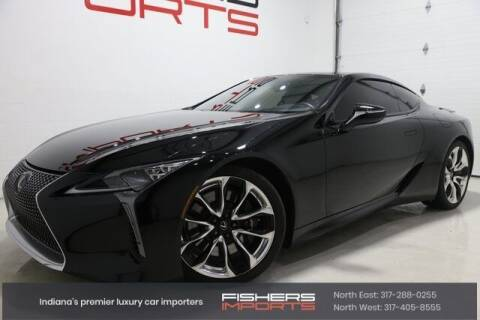 2018 Lexus LC 500 for sale at Fishers Imports in Fishers IN