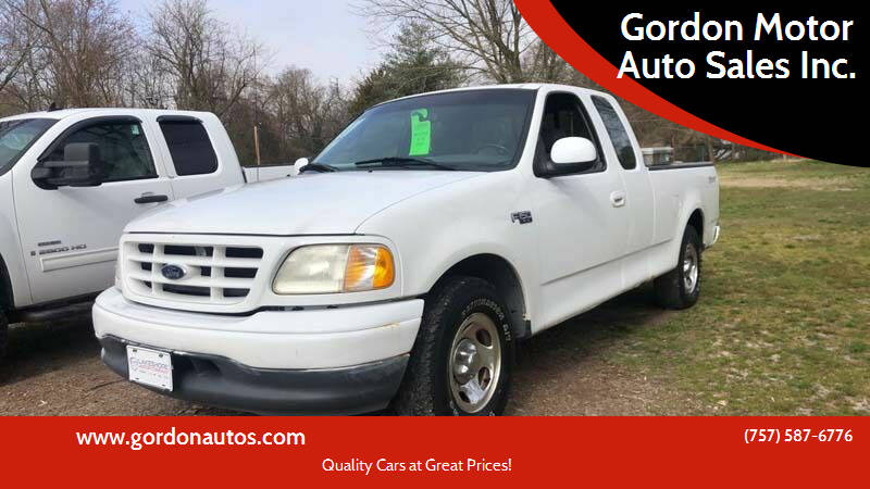 2001 Ford F-150 for sale at Gordon Motor Auto Sales Inc. in Norfolk VA