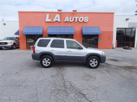 2006 Mazda Tribute for sale at L A AUTOS in Omaha NE