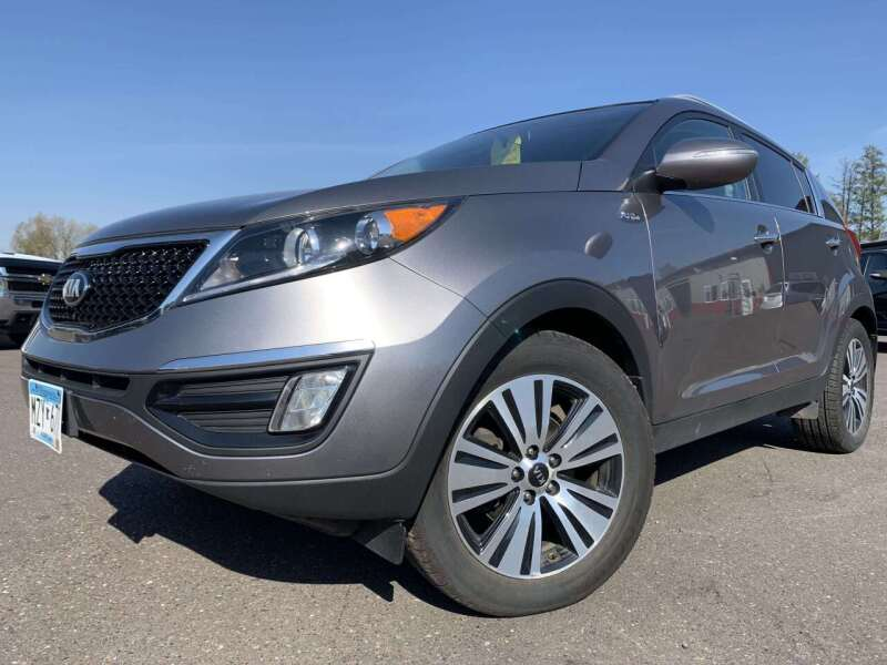 2015 Kia Sportage for sale at Autobahn Sales And Service LLC in Hermantown MN