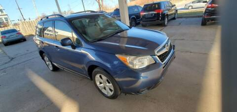 2014 Subaru Forester for sale at Divine Auto Sales LLC in Omaha NE