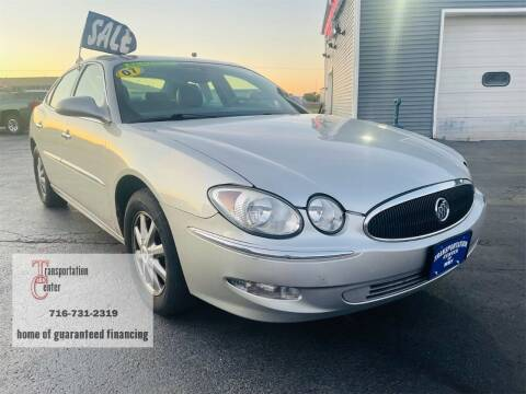 2007 Buick LaCrosse for sale at Transportation Center Of Western New York in Niagara Falls NY