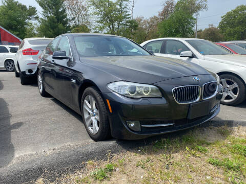 2013 BMW 5 Series for sale at Top Quality Auto Sales in Westport MA