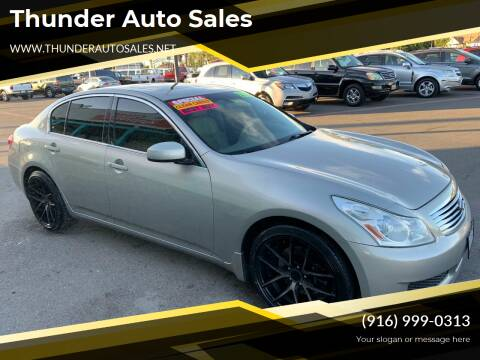 2008 Infiniti G35 for sale at Thunder Auto Sales in Sacramento CA