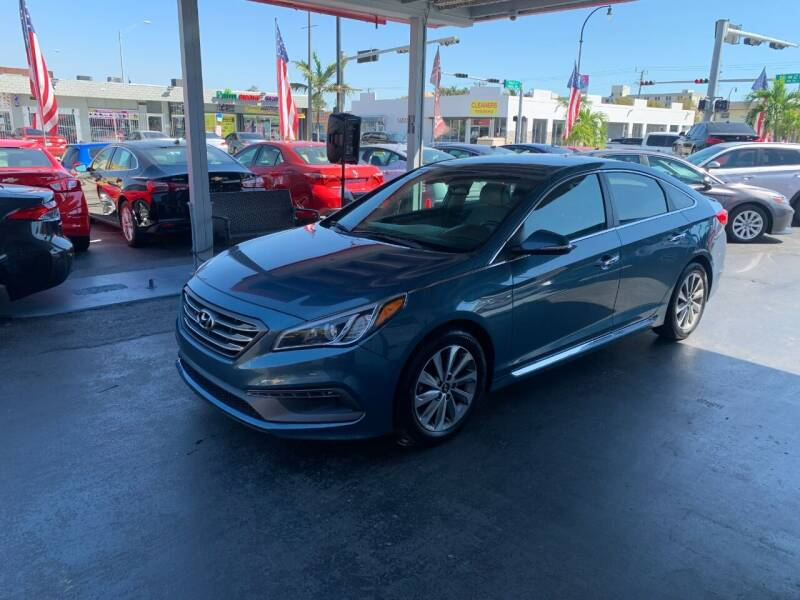 2016 Hyundai Sonata for sale at American Auto Sales in Hialeah FL