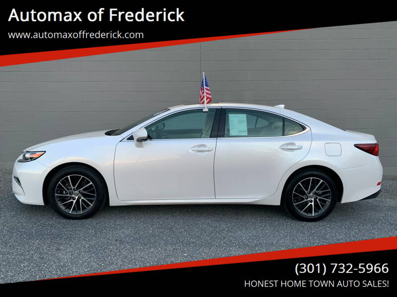2017 Lexus ES 350 for sale at Automax of Frederick in Frederick MD