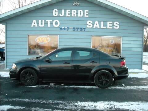 2011 Dodge Avenger for sale at GJERDE AUTO SALES in Detroit Lakes MN