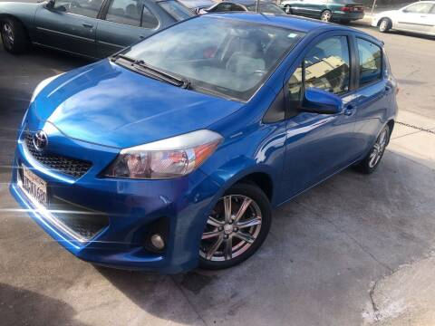 2013 Toyota Yaris for sale at Excelsior Motors , Inc in San Francisco CA