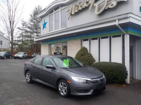 2016 Honda Civic for sale at Nicky D's in Easthampton MA