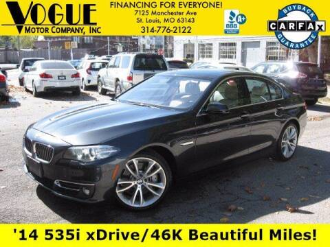 2014 BMW 5 Series for sale at Vogue Motor Company Inc in Saint Louis MO