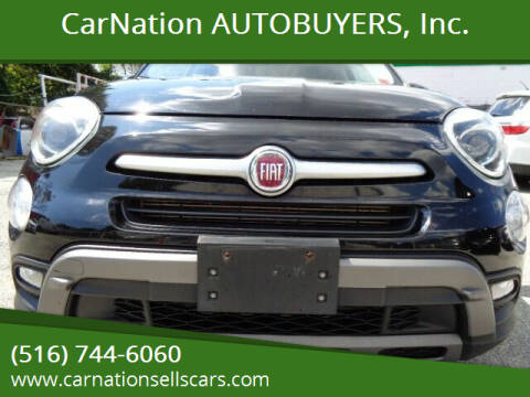 2016 FIAT 500X for sale at CarNation AUTOBUYERS, Inc. in Rockville Centre NY
