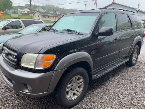 2003 Toyota Sequoia for sale at Trocci's Auto Sales in West Pittsburg PA