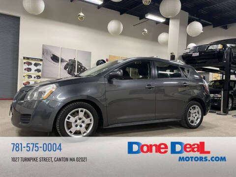 2009 Pontiac Vibe for sale at DONE DEAL MOTORS in Canton MA