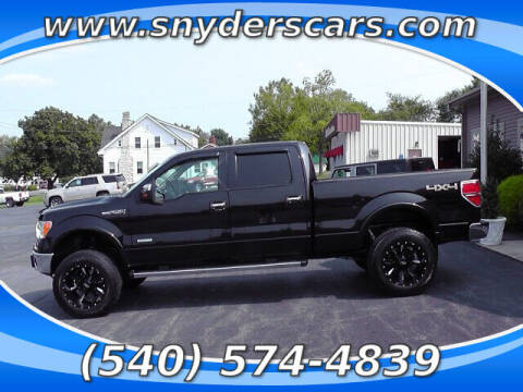 2014 Ford F-150 for sale at Snyders Auto Sales in Harrisonburg VA