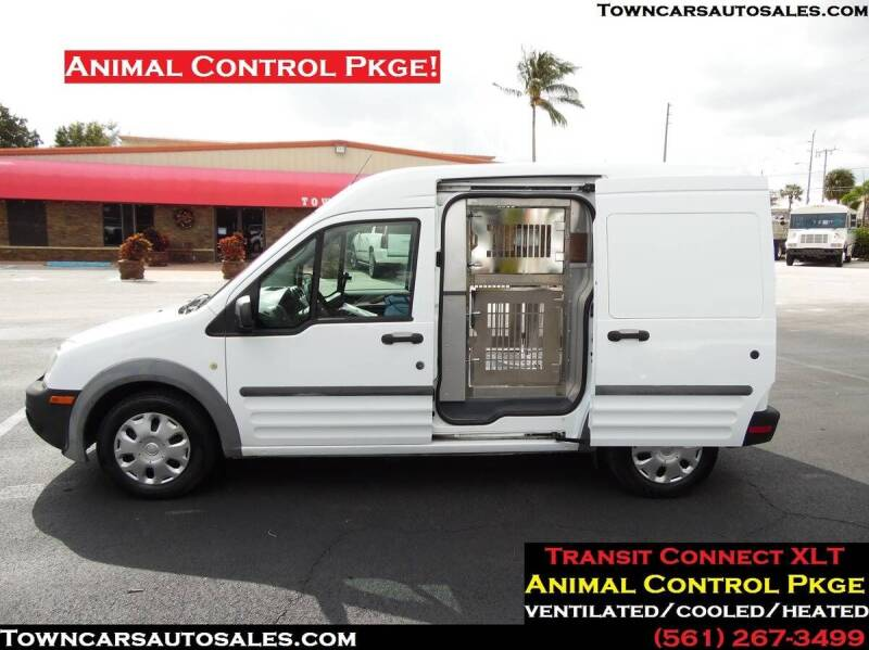 2013 Ford Transit Connect for sale at Town Cars Auto Sales in West Palm Beach FL