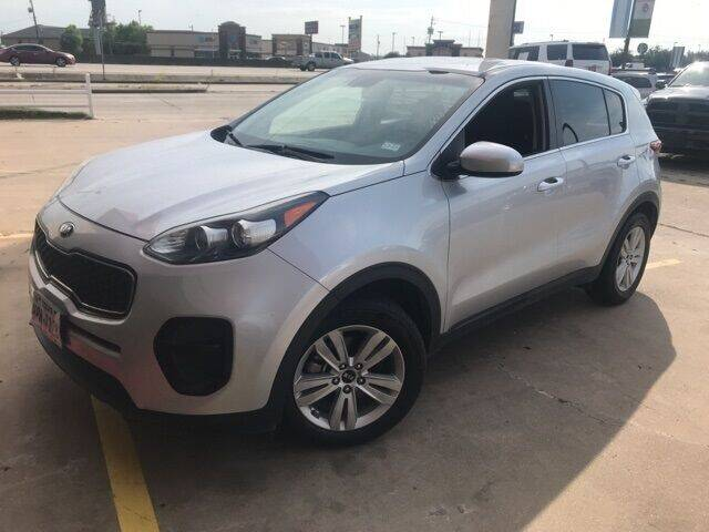 2017 Kia Sportage for sale at FREDY USED CAR SALES in Houston TX