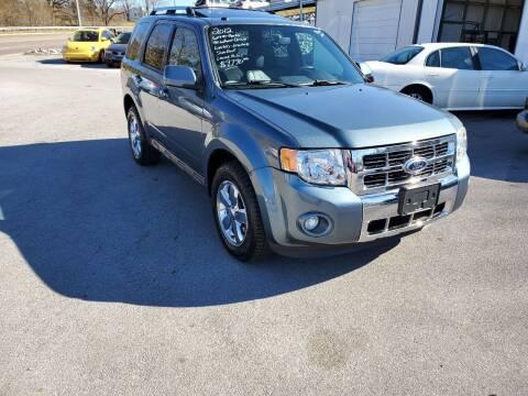 2012 Ford Escape for sale at DISCOUNT AUTO SALES in Johnson City TN
