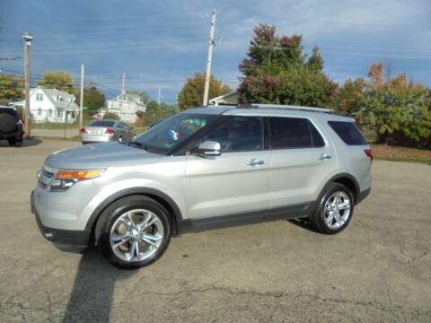 2014 Ford Explorer for sale at B & G AUTO SALES in Uniontown PA