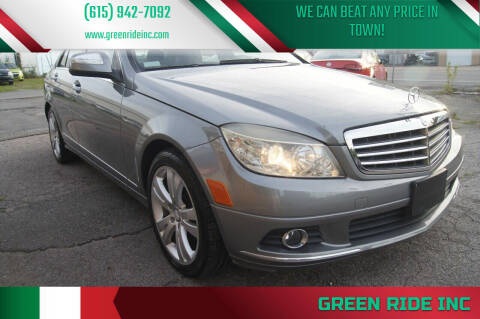 2008 Mercedes-Benz C-Class for sale at Green Ride Inc in Nashville TN