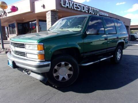 1999 Chevrolet Tahoe for sale at Lakeside Auto Brokers Inc. in Colorado Springs CO