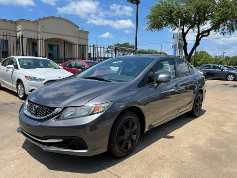 2013 Honda Civic for sale at CityWide Motors in Garland TX