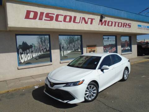 2019 Toyota Camry for sale at Discount Motors in Pueblo CO