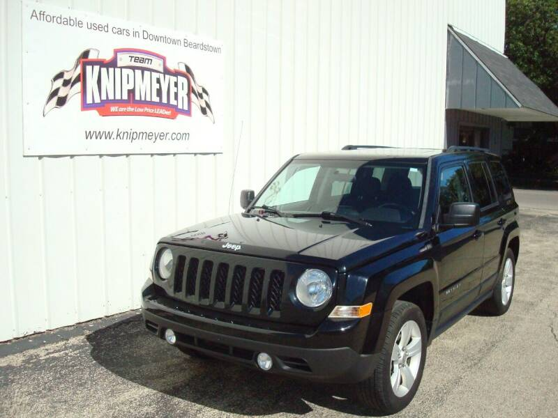 2013 Jeep Patriot for sale at Team Knipmeyer in Beardstown IL