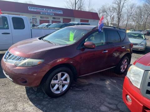 2009 Nissan Murano for sale at Advantage Auto Sales in Johnstown PA