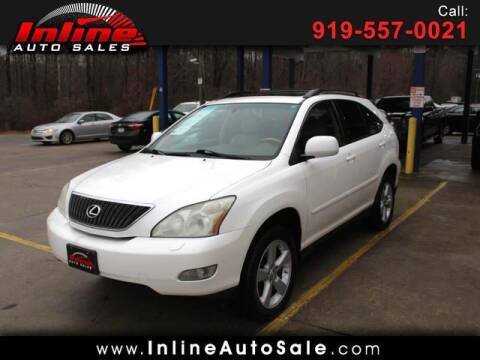 2007 Lexus RX 350 for sale at Inline Auto Sales in Fuquay Varina NC