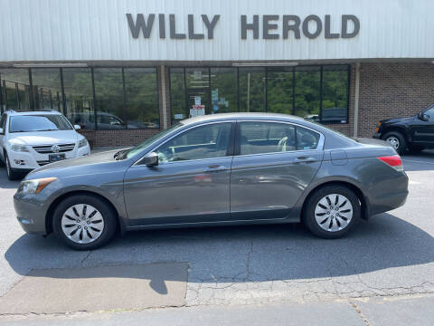 2009 Honda Accord for sale at Willy Herold Automotive in Columbus GA