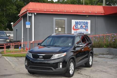 2014 Kia Sorento for sale at Motor Car Concepts II - Kirkman Location in Orlando FL