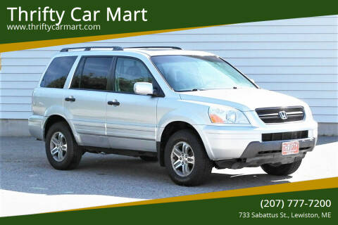 2005 Honda Pilot for sale at Thrifty Car Mart in Lewiston ME