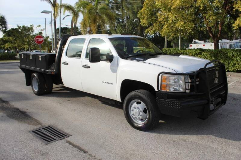 2013 Chevrolet Silverado 3500HD CC for sale at Truck and Van Outlet in Miami FL