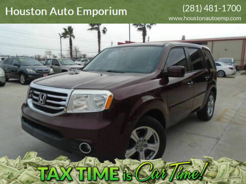 2013 Honda Pilot for sale at Houston Auto Emporium in Houston TX