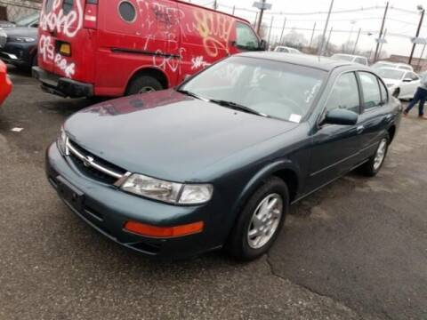 1998 Nissan Maxima for sale at Cj king of car loans/JJ's Best Auto Sales in Troy MI