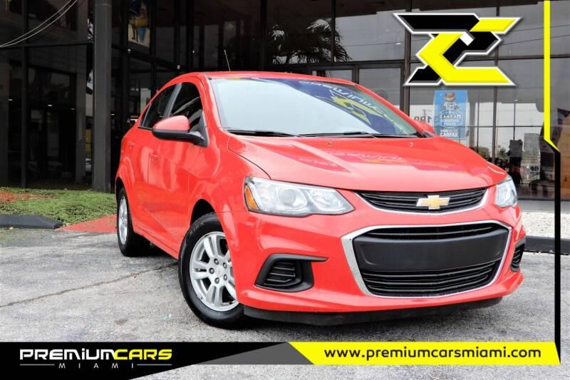 2017 Chevrolet Sonic for sale at Premium Cars of Miami in Miami FL
