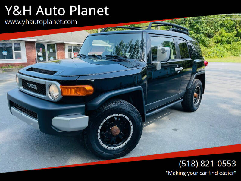 2007 Toyota FJ Cruiser for sale at Y&H Auto Planet in West Sand Lake NY