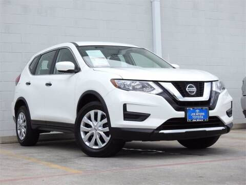 2018 Nissan Rogue for sale at Joe Myers Toyota PreOwned in Houston TX
