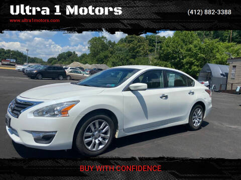 2015 Nissan Altima for sale at Ultra 1 Motors in Pittsburgh PA