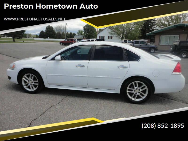 2013 Chevrolet Impala for sale at Preston Hometown Auto in Preston ID