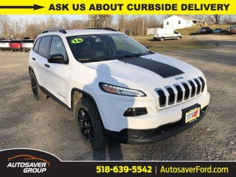 2016 Jeep Cherokee for sale at Autosaver Ford in Comstock NY