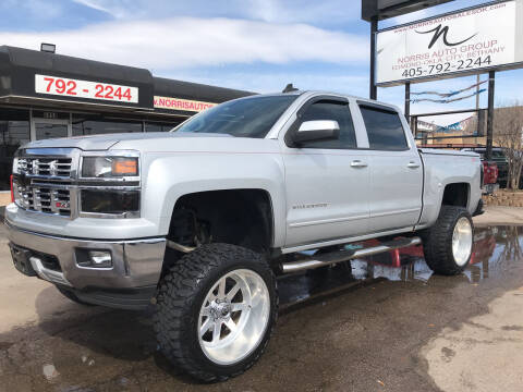 2015 Chevrolet Silverado 1500 for sale at NORRIS AUTO SALES in Oklahoma City OK