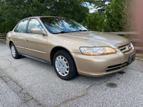 2001 Honda Accord for sale at Front Porch Motors Inc. in Conyers GA