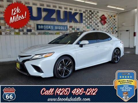 2020 Toyota Camry for sale at BROOKS BIDDLE AUTOMOTIVE in Bothell WA