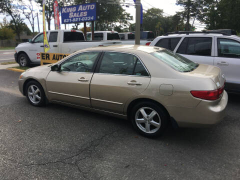 2005 Honda Accord for sale at King Auto Sales INC in Medford NY