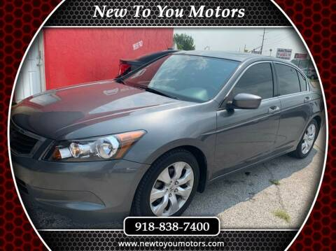 2009 Honda Accord for sale at New To You Motors in Tulsa OK