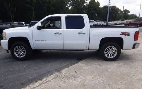 2011 Chevrolet Silverado 1500 for sale at Mathews Used Cars, Inc. in Crawford GA