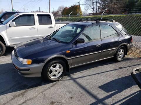 1996 Subaru Impreza for sale at Green Tree Motors in Elizabethton TN