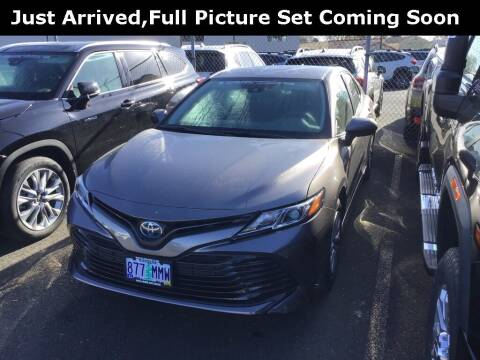 2020 Toyota Camry Hybrid for sale at Royal Moore Custom Finance in Hillsboro OR