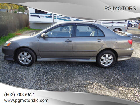 2003 Toyota Corolla for sale at PG Motors in Portland OR